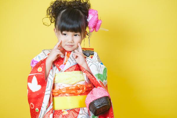【7歳・3歳姉妹】日本髪とお団子ヘアで七五三撮影
